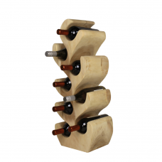 Wine holder suar wood