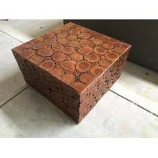 Teak salonbox woodlook
