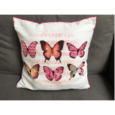 Madison sierkussen pink butterfly
