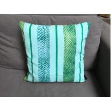 Madison sierkussen green stripes