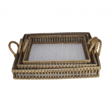 Butler tray rectangular