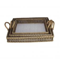 Butler tray rectangular