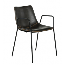 Le Chair | Eetkamerstoel Cruz antraciet