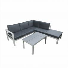 Loungehoek  Aurore Alu verstelbare tafel