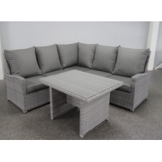 Loungehoek Finley mix grey