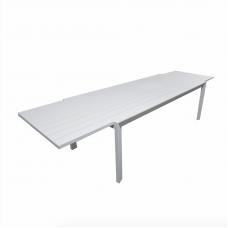 "Tuintafel Dallas aluminium white uitschuifbaar ""220/330"""