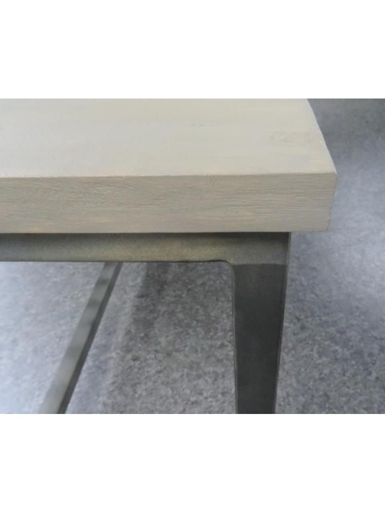 Tuintafel Met 6 Verstelbare Stoelen.Diningset Industrieel Finley Flex Mix Grey