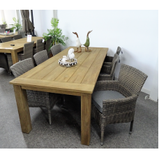 "Diningset Atlanta Stapel kubu grey ""240"""