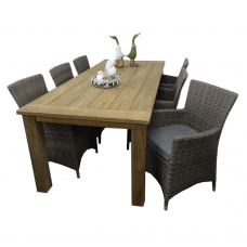 "Diningset Atlanta kubu grey ""240"""
