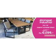 Diningset Industrial